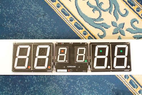 Arduino based digital Scoreboard  (382)