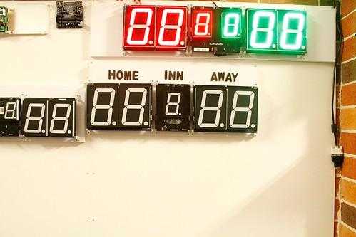 Arduino based digital Scoreboard  (375)