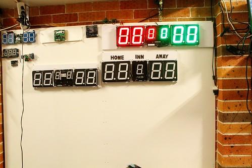 Arduino based digital Scoreboard  (374)