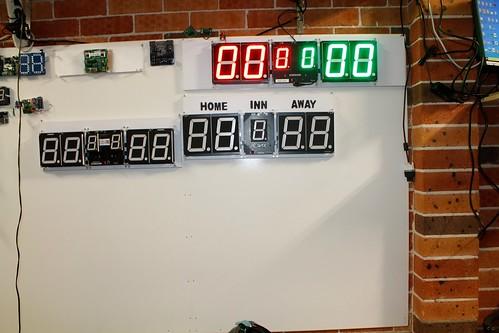 Arduino based digital Scoreboard  (373)
