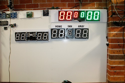 Arduino based digital Scoreboard  (372)