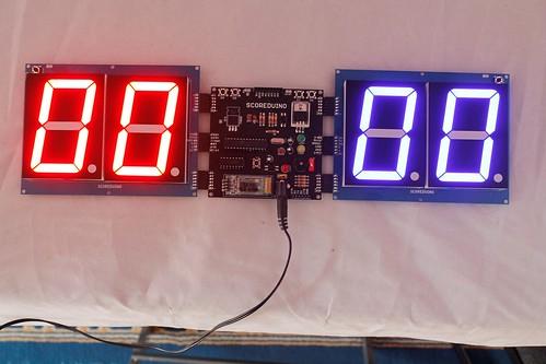 Arduino based digital Scoreboard  (346)