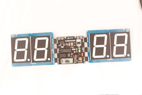 Arduino based digital Scoreboard  (342)