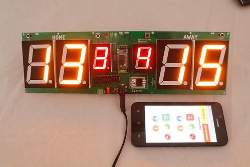 Arduino based digital Scoreboard  (335)