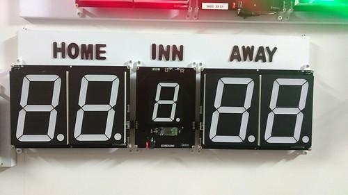 Arduino based digital Scoreboard  (322)