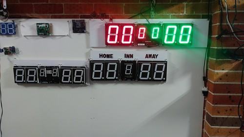 Arduino based digital Scoreboard  (321)