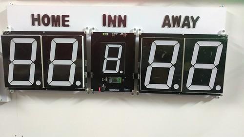 Arduino based digital Scoreboard  (319)