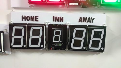Arduino based digital Scoreboard  (316)