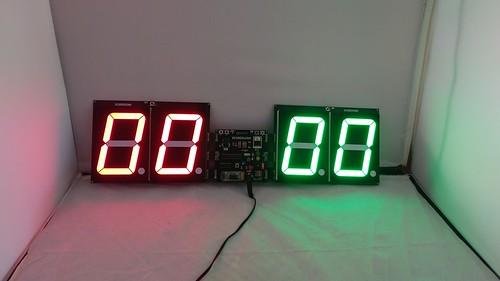 Arduino based digital Scoreboard  (308)