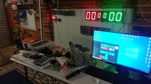 Arduino based digital Scoreboard  (305)