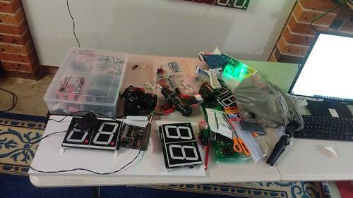 Arduino based digital Scoreboard  (302)