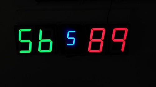 Arduino based digital Scoreboard  (297)