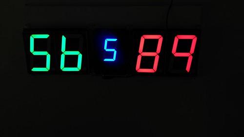 Arduino based digital Scoreboard  (296)