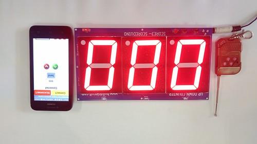 Arduino based digital Scoreboard  (246)