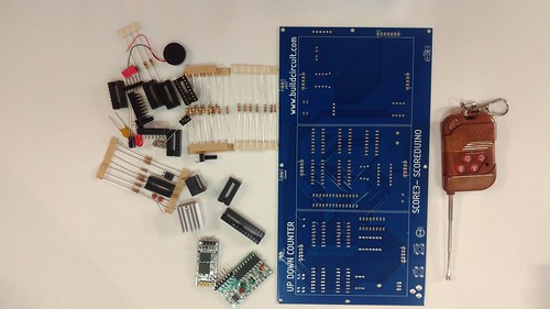Arduino based digital Scoreboard  (241)