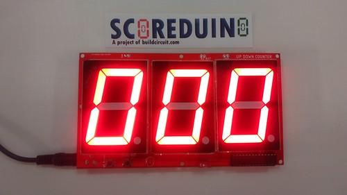 Arduino based digital Scoreboard  (238)