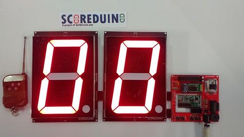 Arduino based digital Scoreboard  (234)