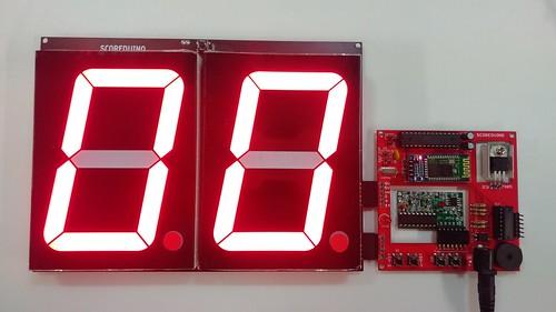 Arduino based digital Scoreboard  (223)