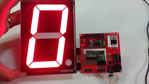 Arduino based digital Scoreboard  (222)