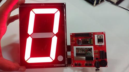 Arduino based digital Scoreboard  (221)