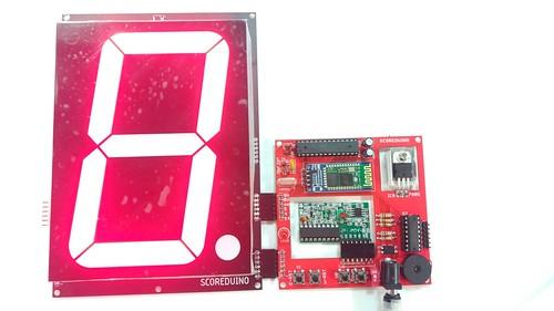 Arduino based digital Scoreboard  (220)