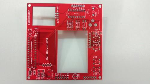 Arduino based digital Scoreboard  (212)