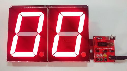 Arduino based digital Scoreboard  (205)