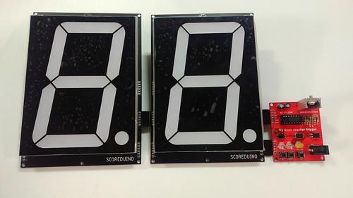 Arduino based digital Scoreboard  (200)