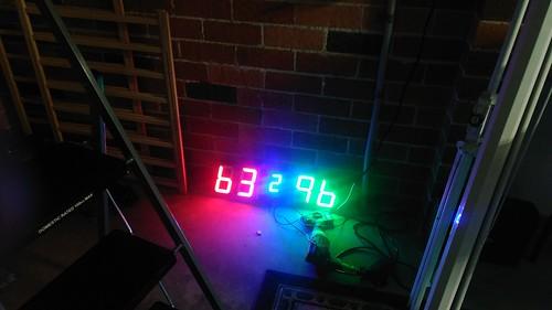 Arduino based digital Scoreboard  (190)