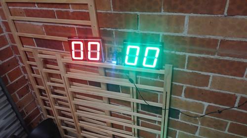 Arduino based digital Scoreboard  (180)