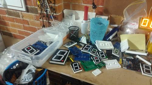 Arduino based digital Scoreboard  (175)