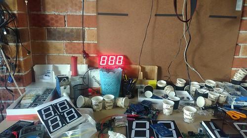 Arduino based digital Scoreboard  (138)