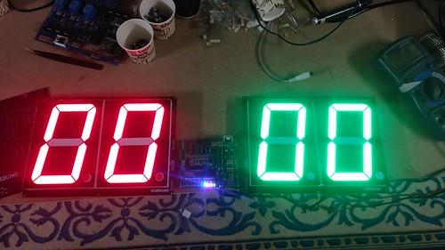 Arduino based digital Scoreboard  (135)