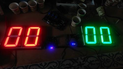 Arduino based digital Scoreboard  (121)