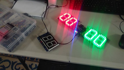 Arduino based digital Scoreboard  (94)