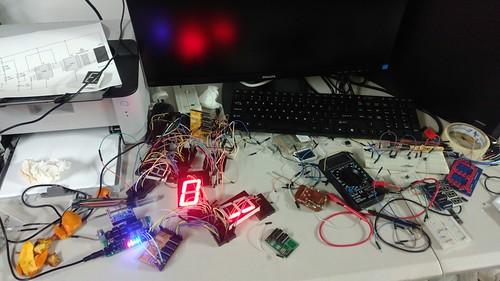 Arduino based digital Scoreboard  (52)
