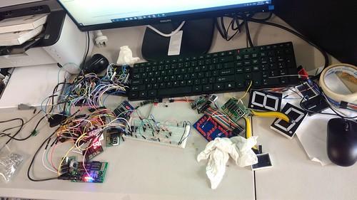 Arduino based digital Scoreboard  (32)