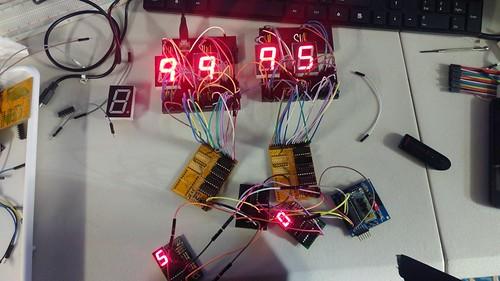Arduino based digital Scoreboard  (26)