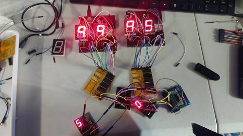 Arduino based digital Scoreboard  (25)