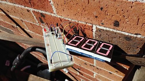 Arduino based digital Scoreboard  (20)