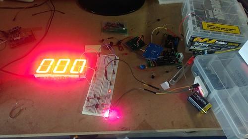 Arduino based digital Scoreboard  (15)