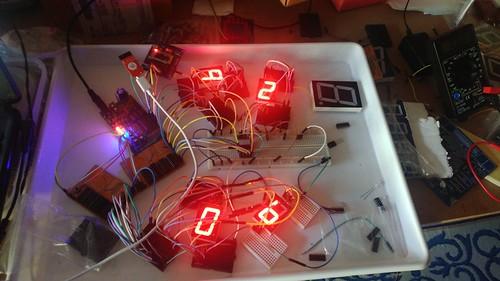 Arduino based digital Scoreboard  (8)