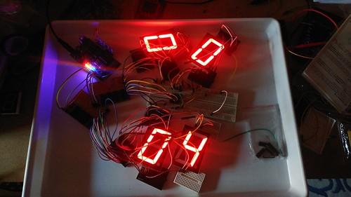 Arduino based digital Scoreboard  (7)
