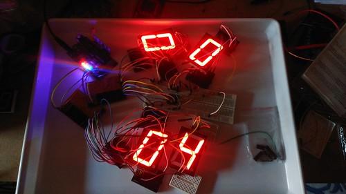 Arduino based digital Scoreboard  (6)