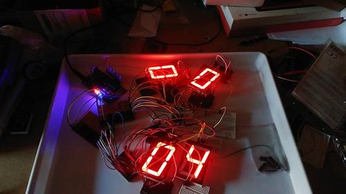Arduino based digital Scoreboard  (5)