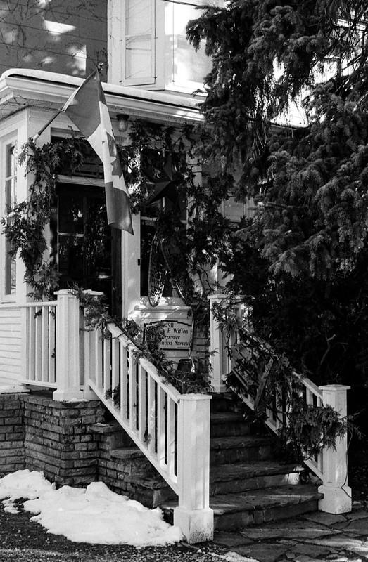 Decoreated Patriotic Front Porch