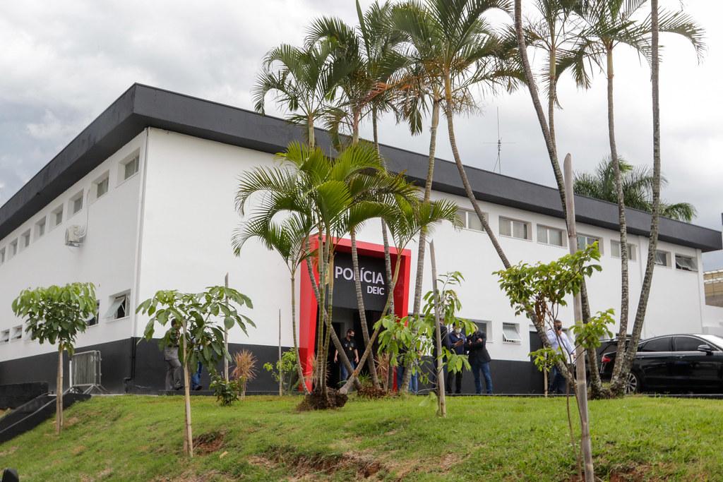 Inauguração do DEIC e assinatura do Desenvolve SP em Campinas