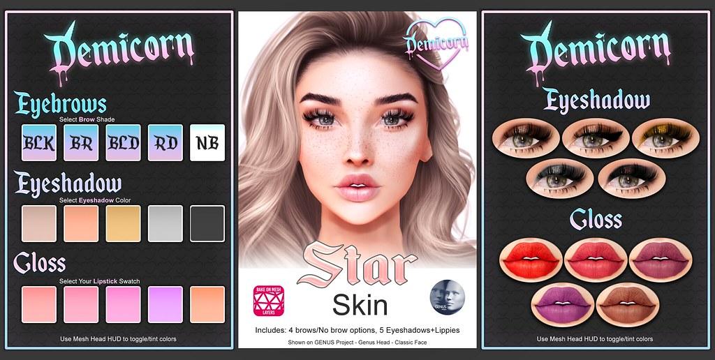 {Demicorn} Star Skin (GENUS/BOM) Preview