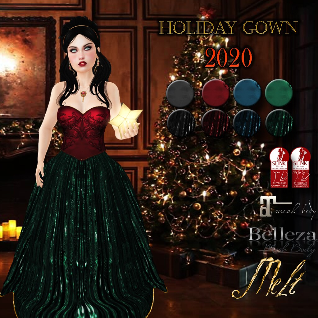 Melt Holiday Gown Gift