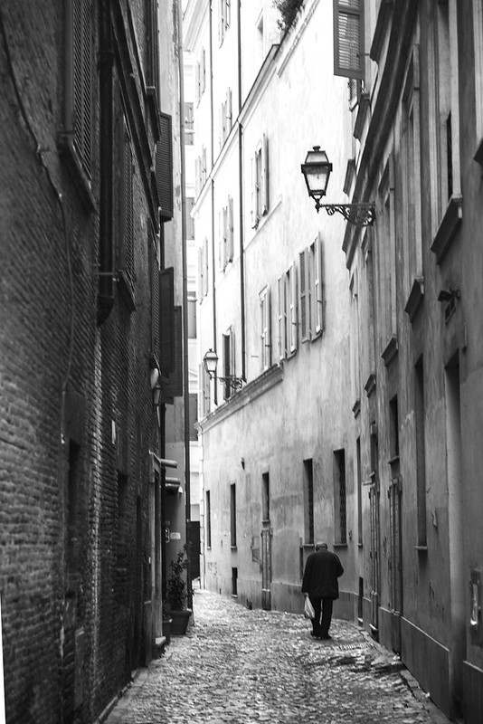 A Collection of Rome Street Shots BW